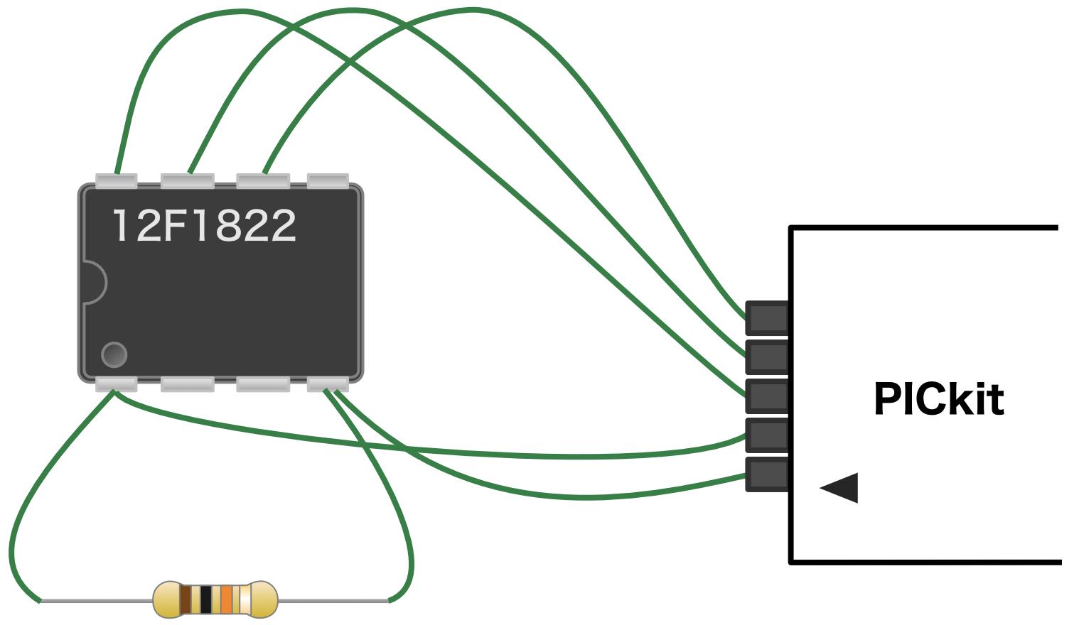 PICkit接続回路