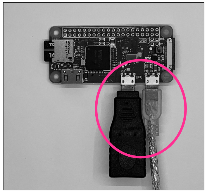 Raspberry Pi ZeroシリーズUSBコネクタ干渉