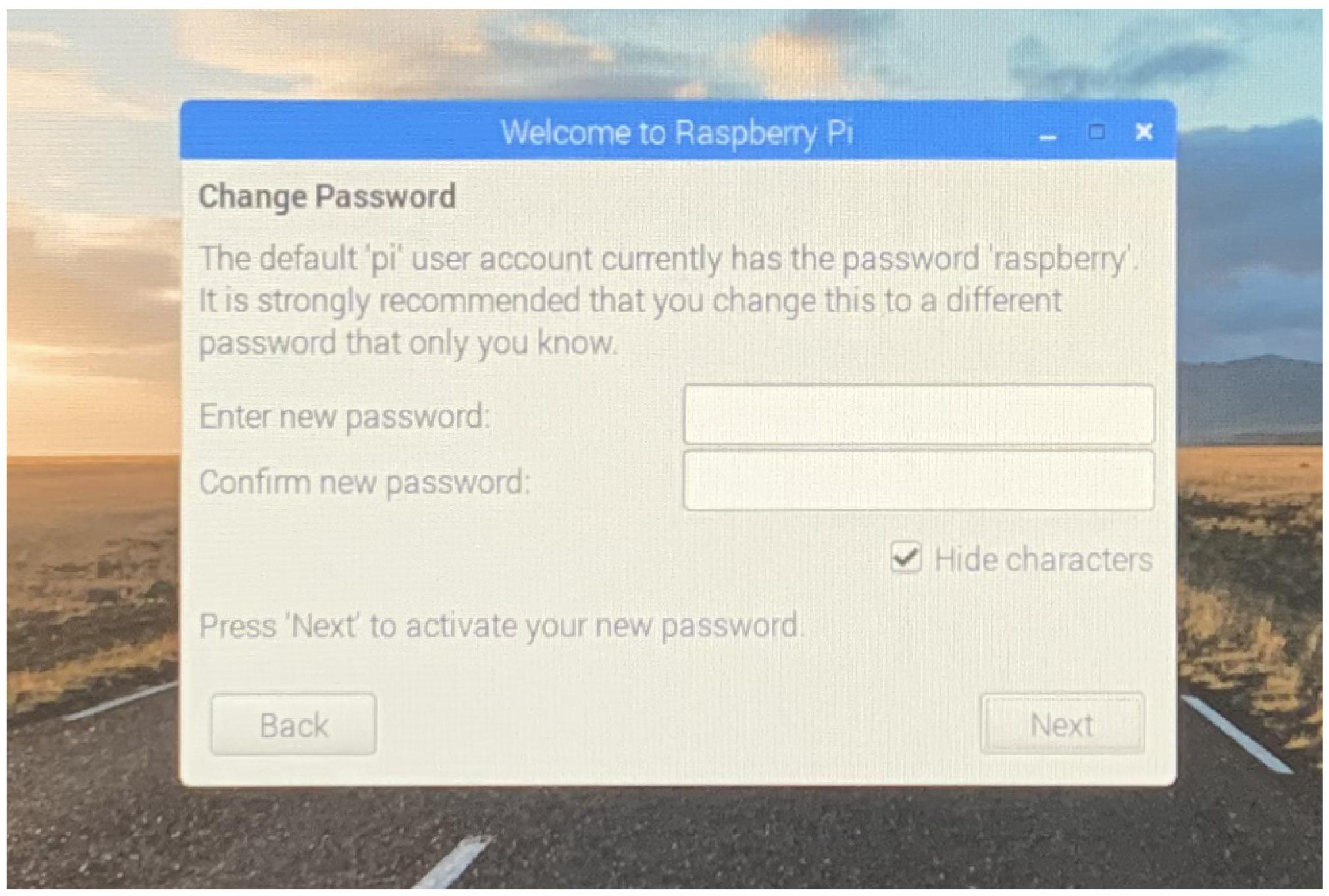 Raspbianセットアップ3