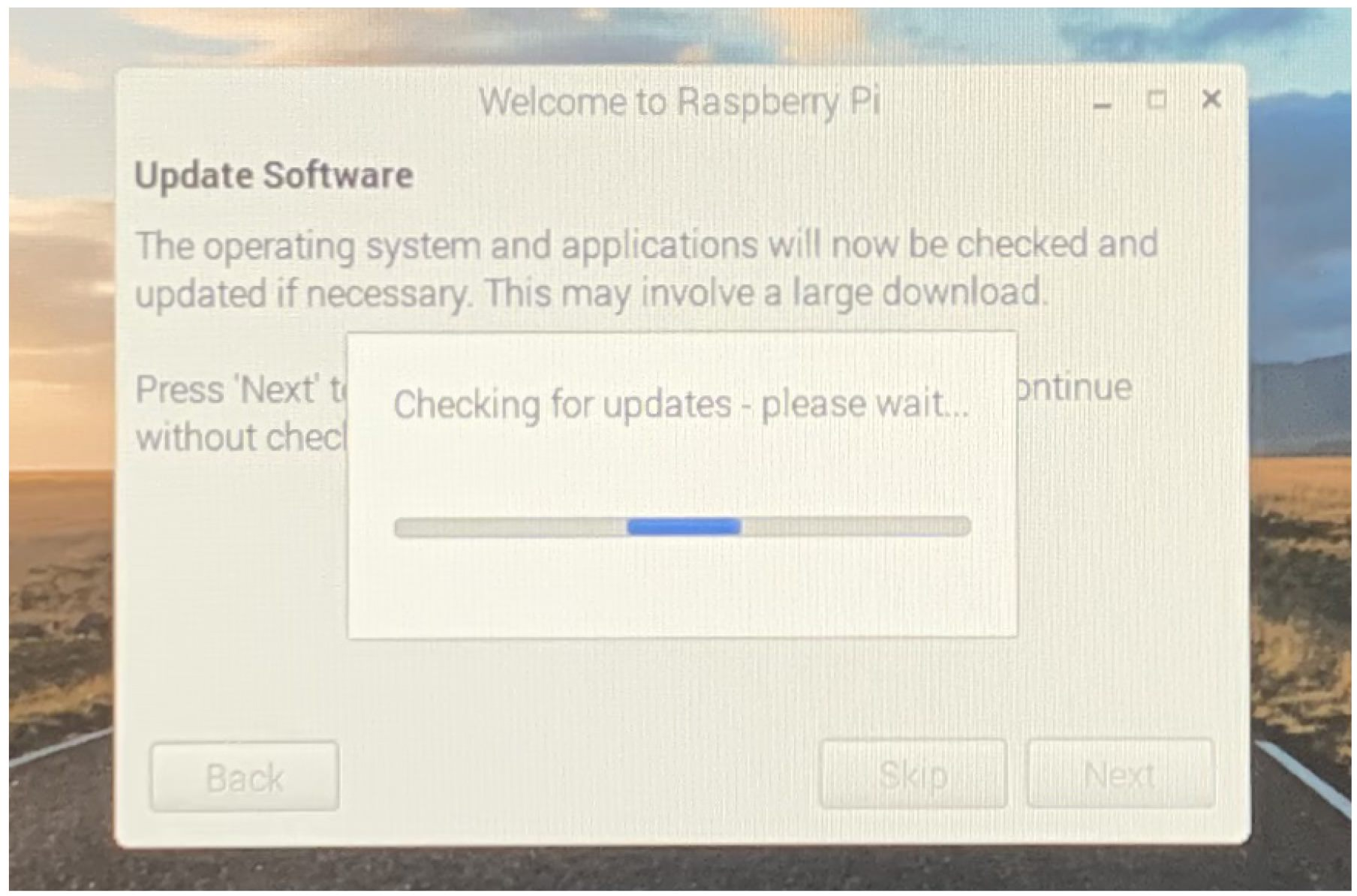 Raspbianセットアップ7