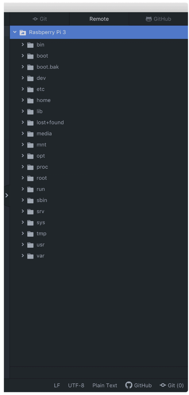 Atom FTP設定8