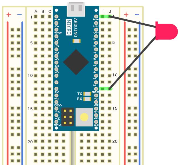 LEDの接続例