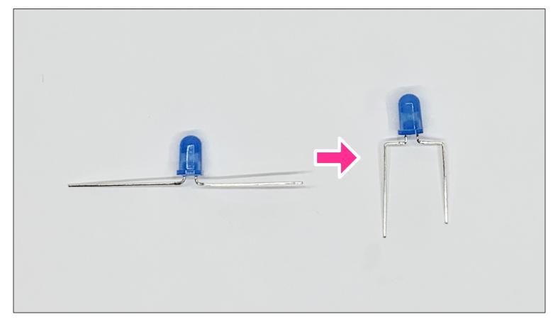 LEDの加工ステップ6