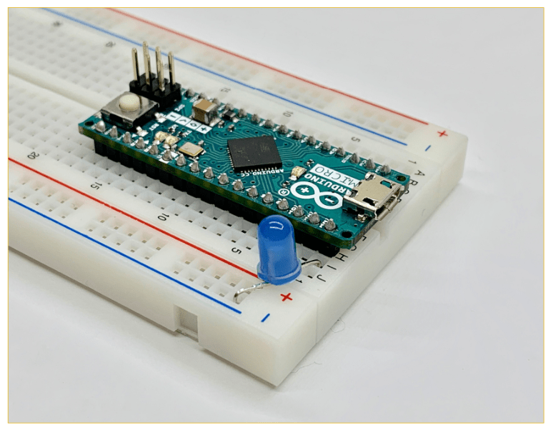 LEDの加工ステップ8