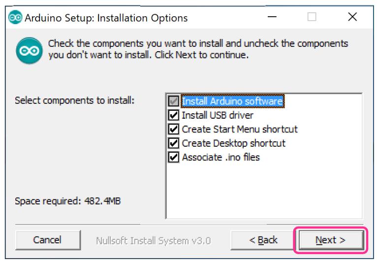 Arduino IDE WIndowsステップ4