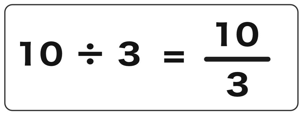 割り算と分数