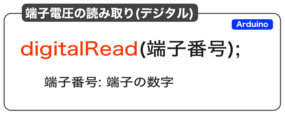 digitalRead命令