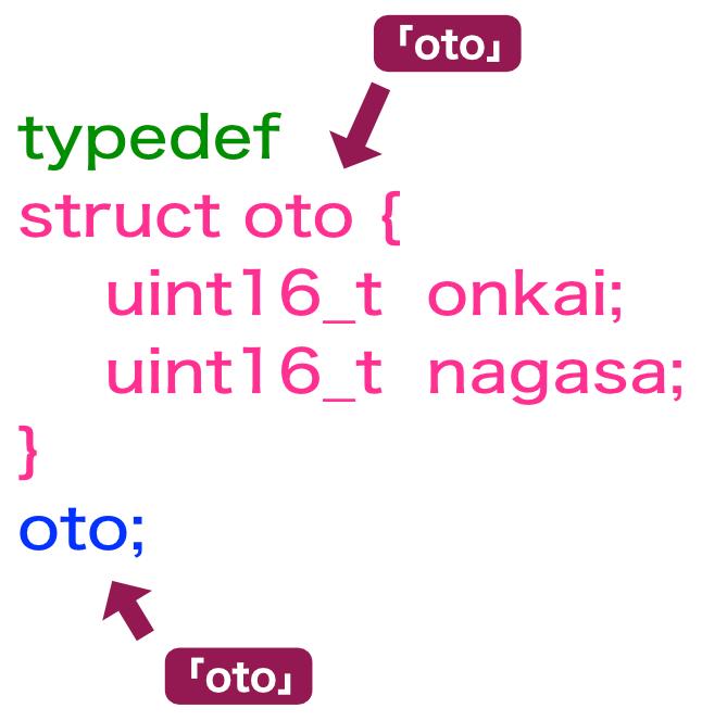 typedef説明(2)